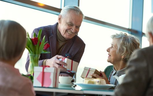 How to make Valentine's Day special for seniors