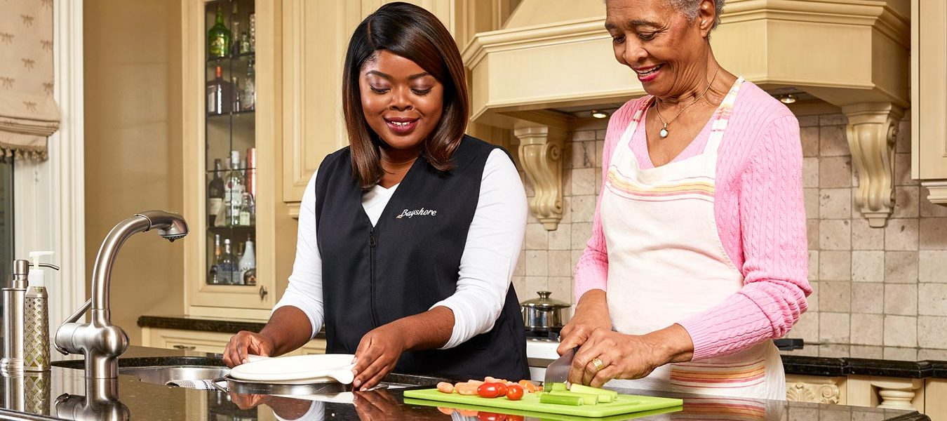 Bayshore HealthCare services cooking