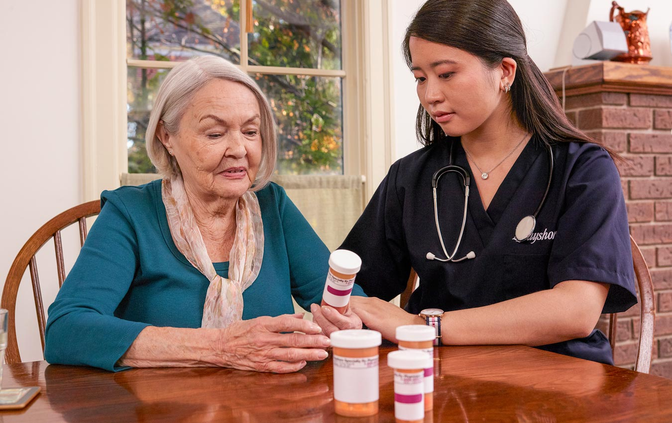 Bayshore HealthCare services medication reminder