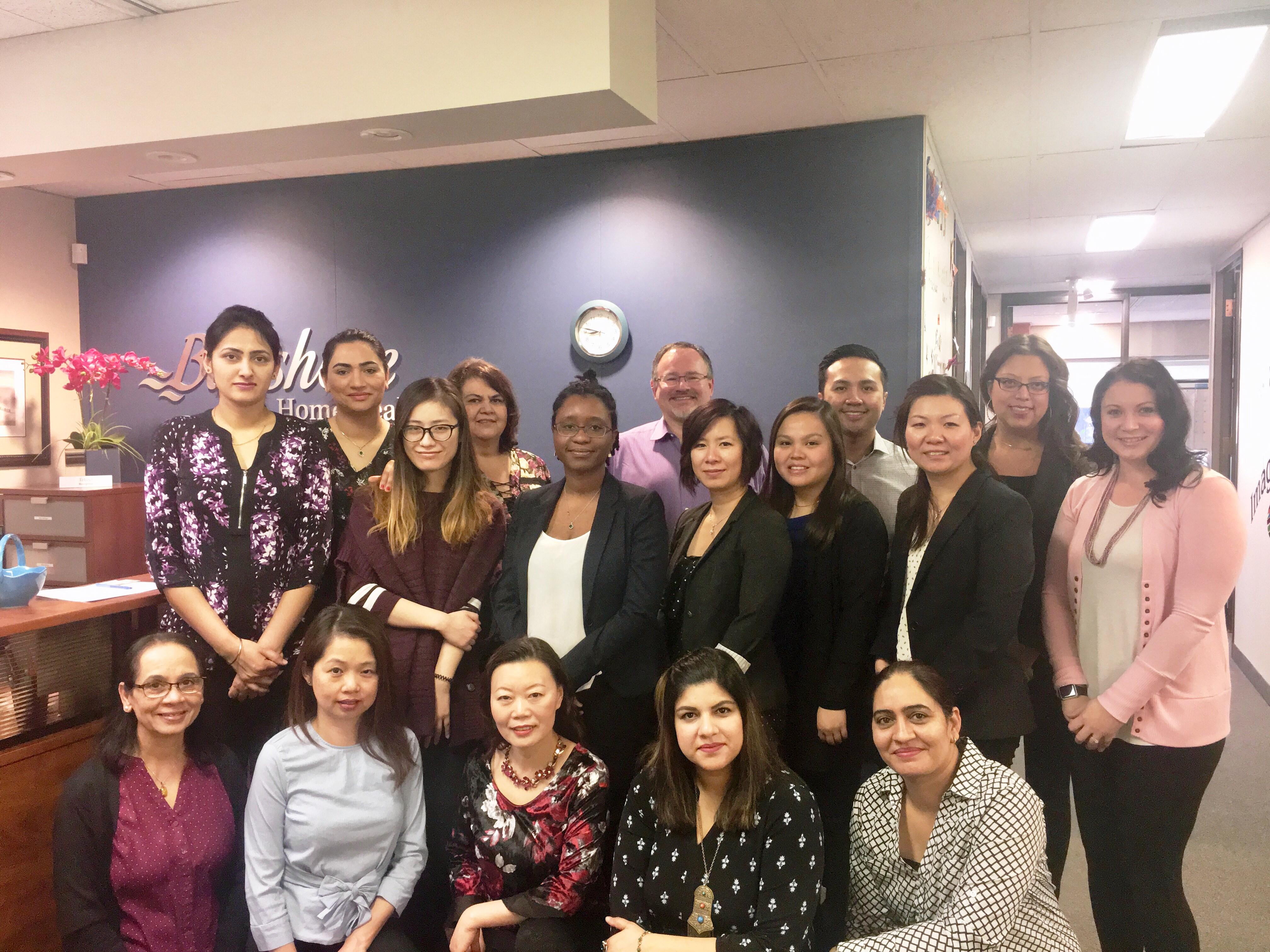 Bayshore Home Care Solutions Calgary team