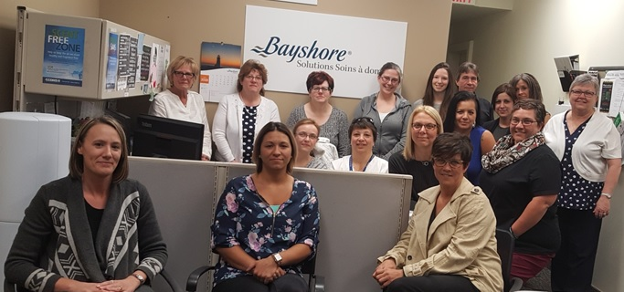 Bayshore Home Health Cornwall team