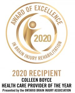 Award of Excellence in Brain Injury Rehabilitation