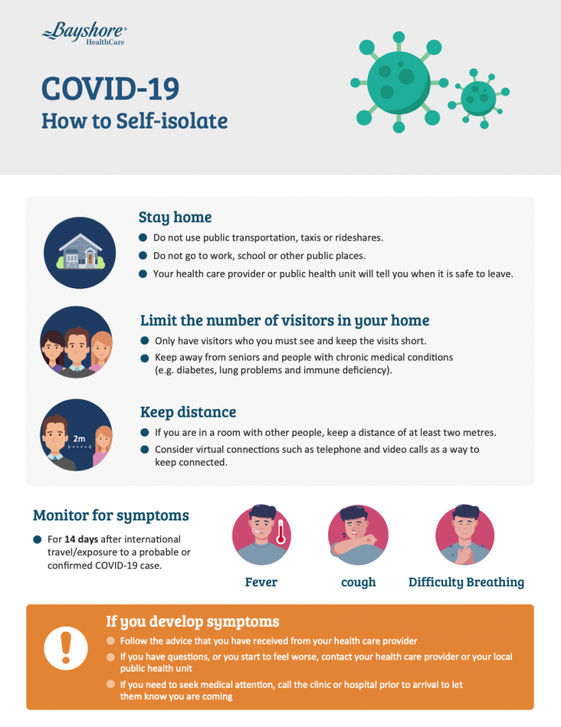 How to self isolate
