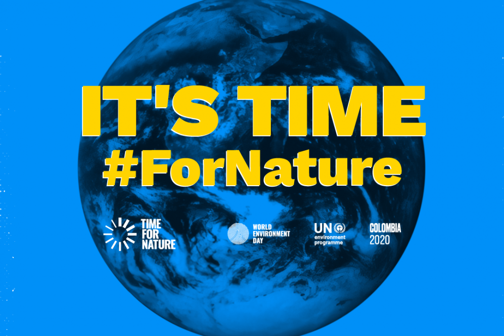 It's time #fornature