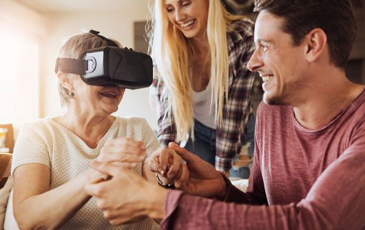 The Future is Now: How Virtual Reality Enhances Seniors' Lives