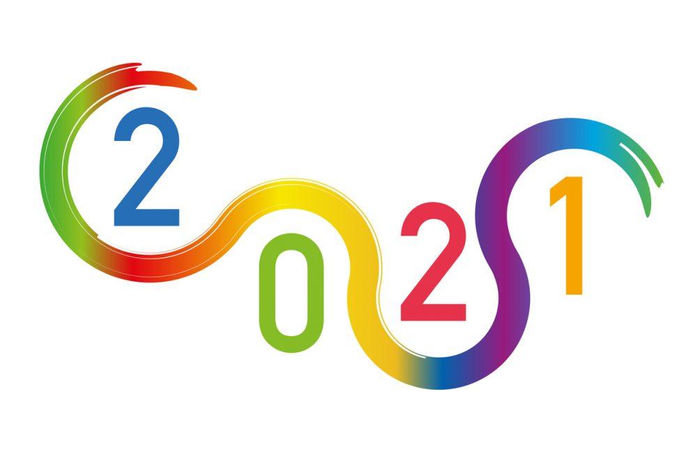 colourful 2021 logo