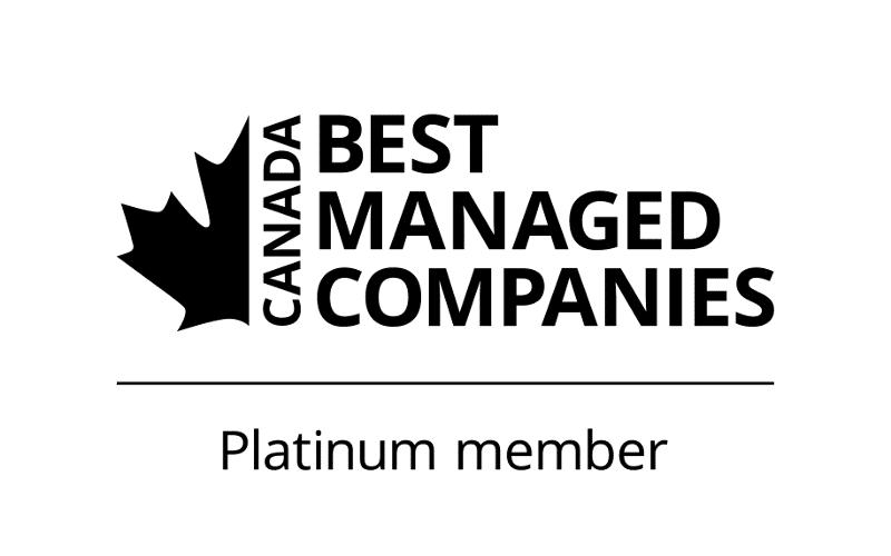 Canada Best Managed Companies Platinum member